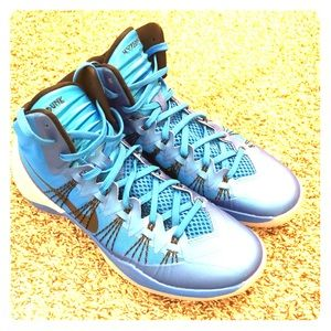 Men s Nike Hyperdunk 2013 Blue  Grey Size 11 f2e514f9a